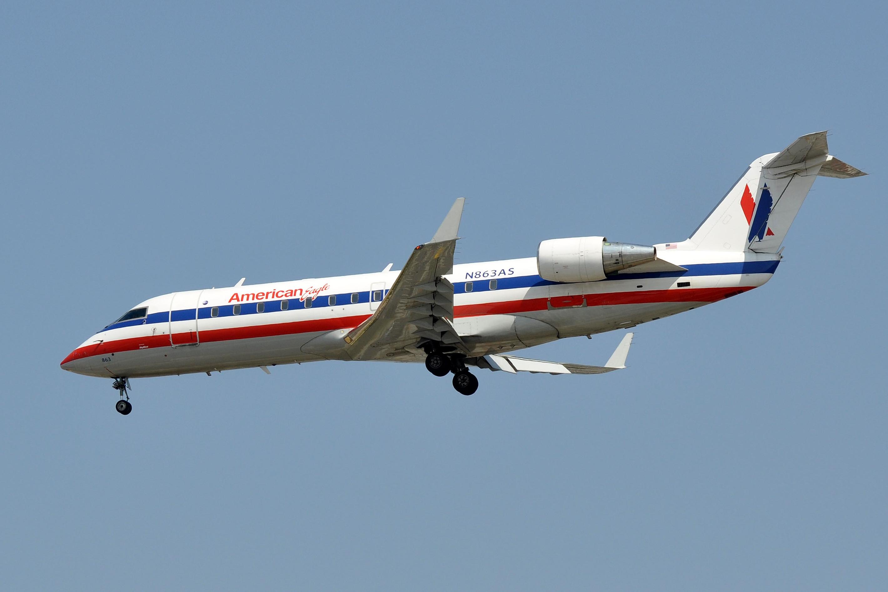 fileskywest airlines canadair crj200 n863as lax