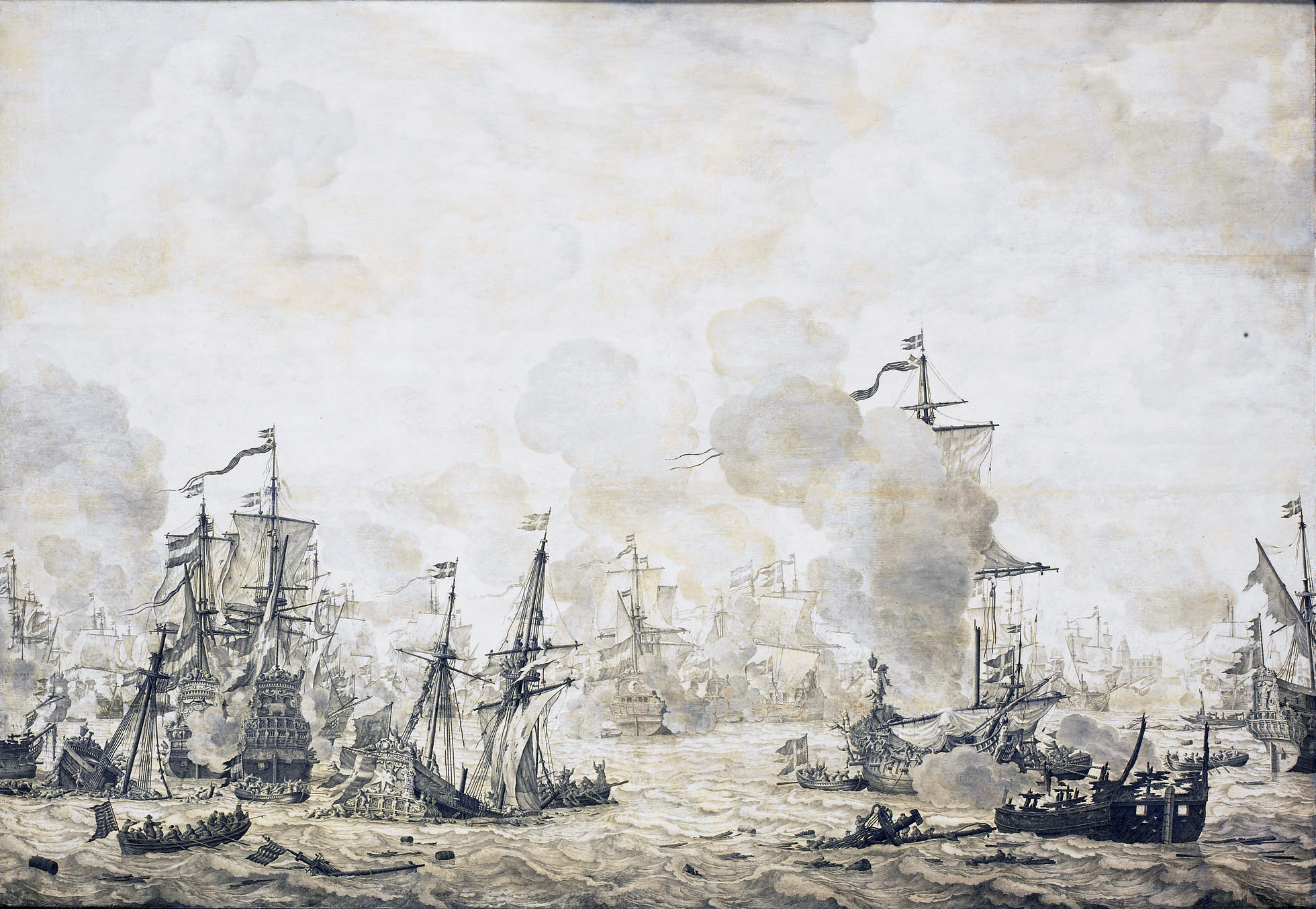 File:Slag in de Sont - Battle of the Sound, November 8 1658-