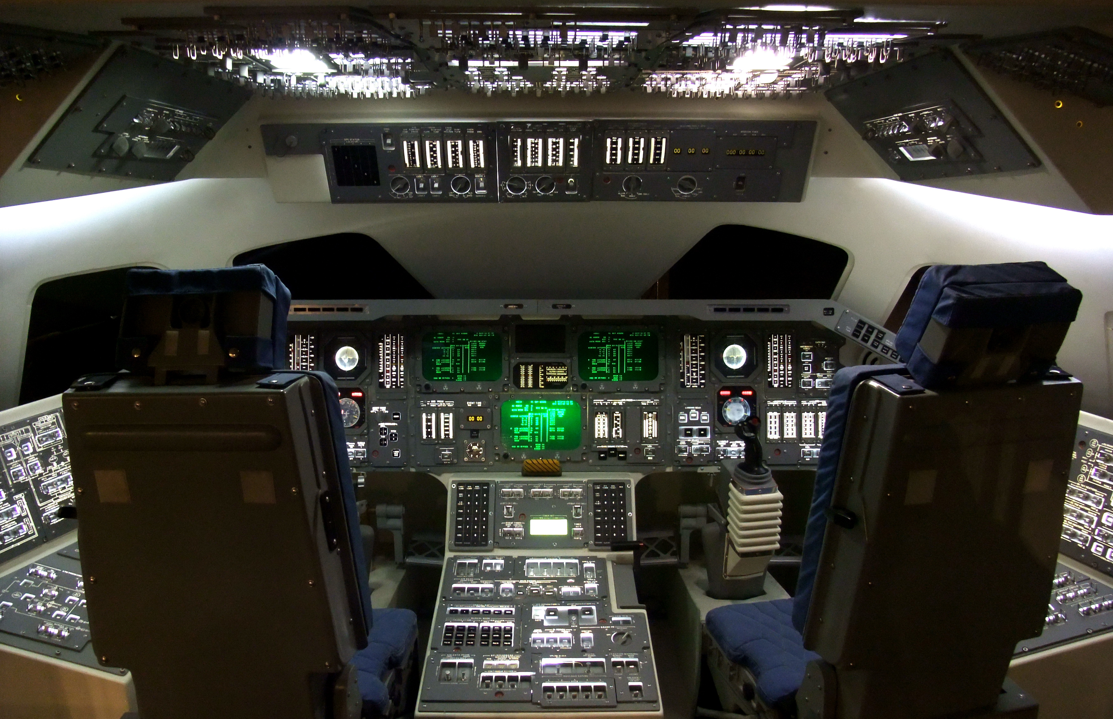 space shuttle original cockpit - photo #1