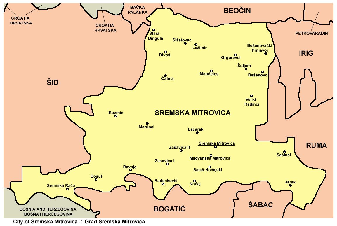 sremska mitrovica mapa Датотека:Sremska mitrovica mun.png — Википедија, слободна  sremska mitrovica mapa