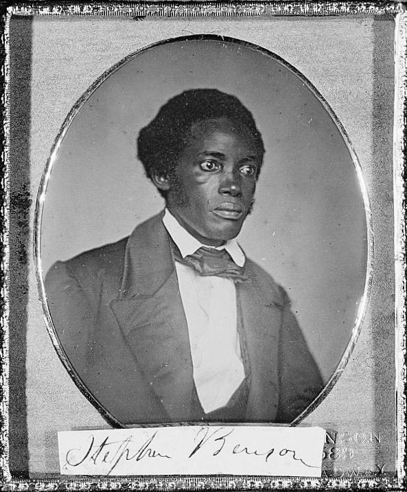 Stephen Allen Benson, President of Liberia 1856-1864