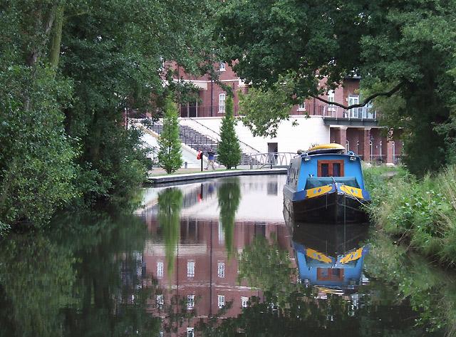 Stratford Canal, Dickens Heath, near Solihull - geograph.org.uk - 965276
