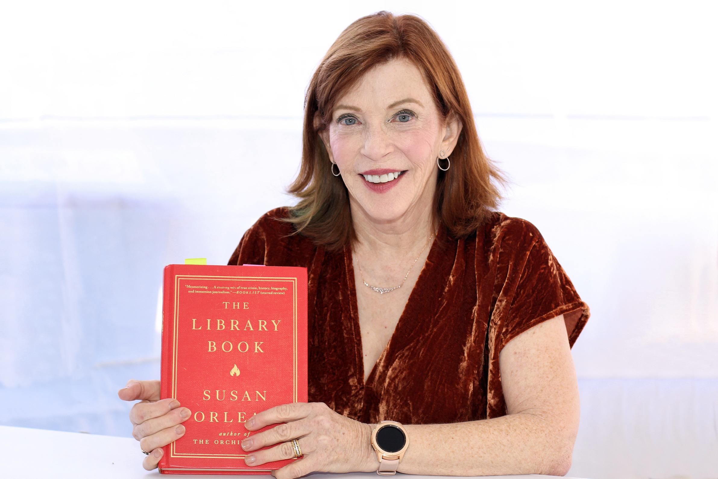 Orlean at the 2018 Texas Book Festival.
