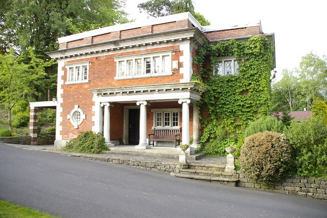 File The Lodge Eaves Hall Geograph Org Uk 559887 Jpg