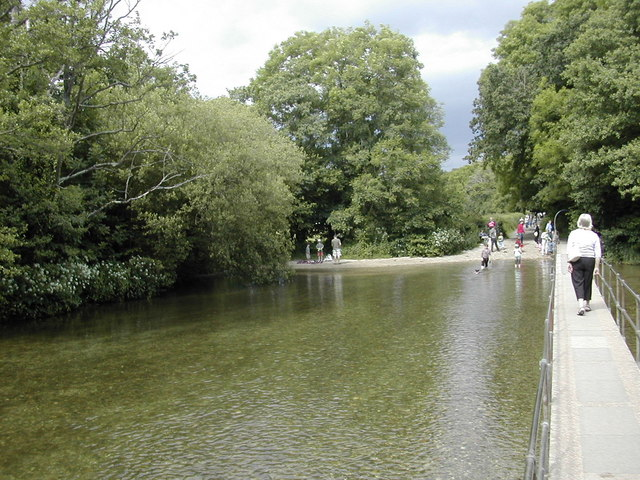 The ford at Moreton - geograph.org.uk - 845635