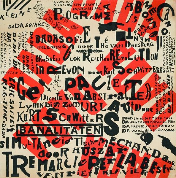 Poster Small Dada Soirée