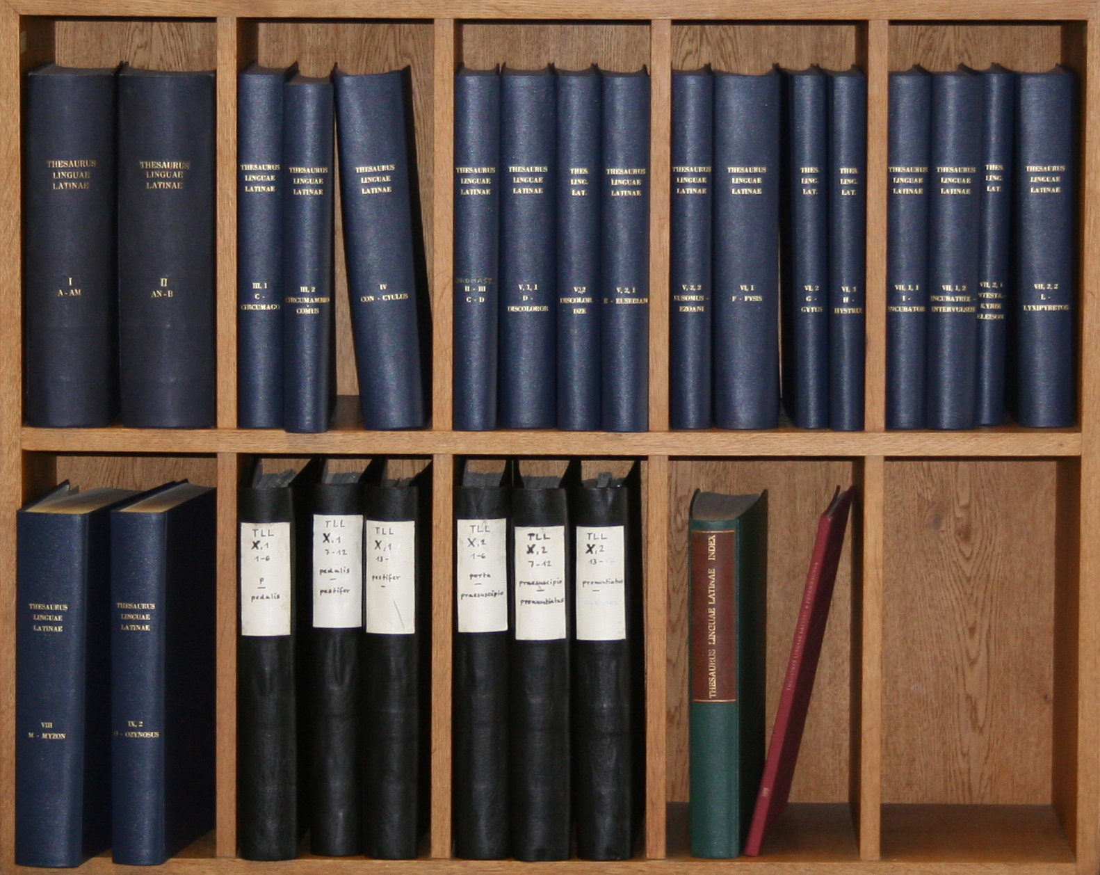Thesaurus Linguae Latinae