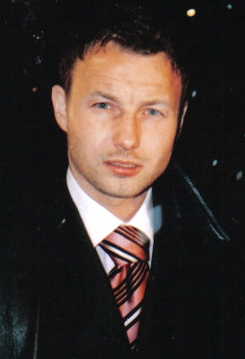 Tomasz Frankowski; top goalscorer during Poland's 2006 World Cup qualifying campaign, with 7 goals, including a hat-trick against Azerbaijan. Tomasz Frankowski.jpg
