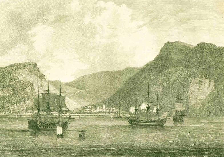 Town of St James, Island of St Helena (1794)