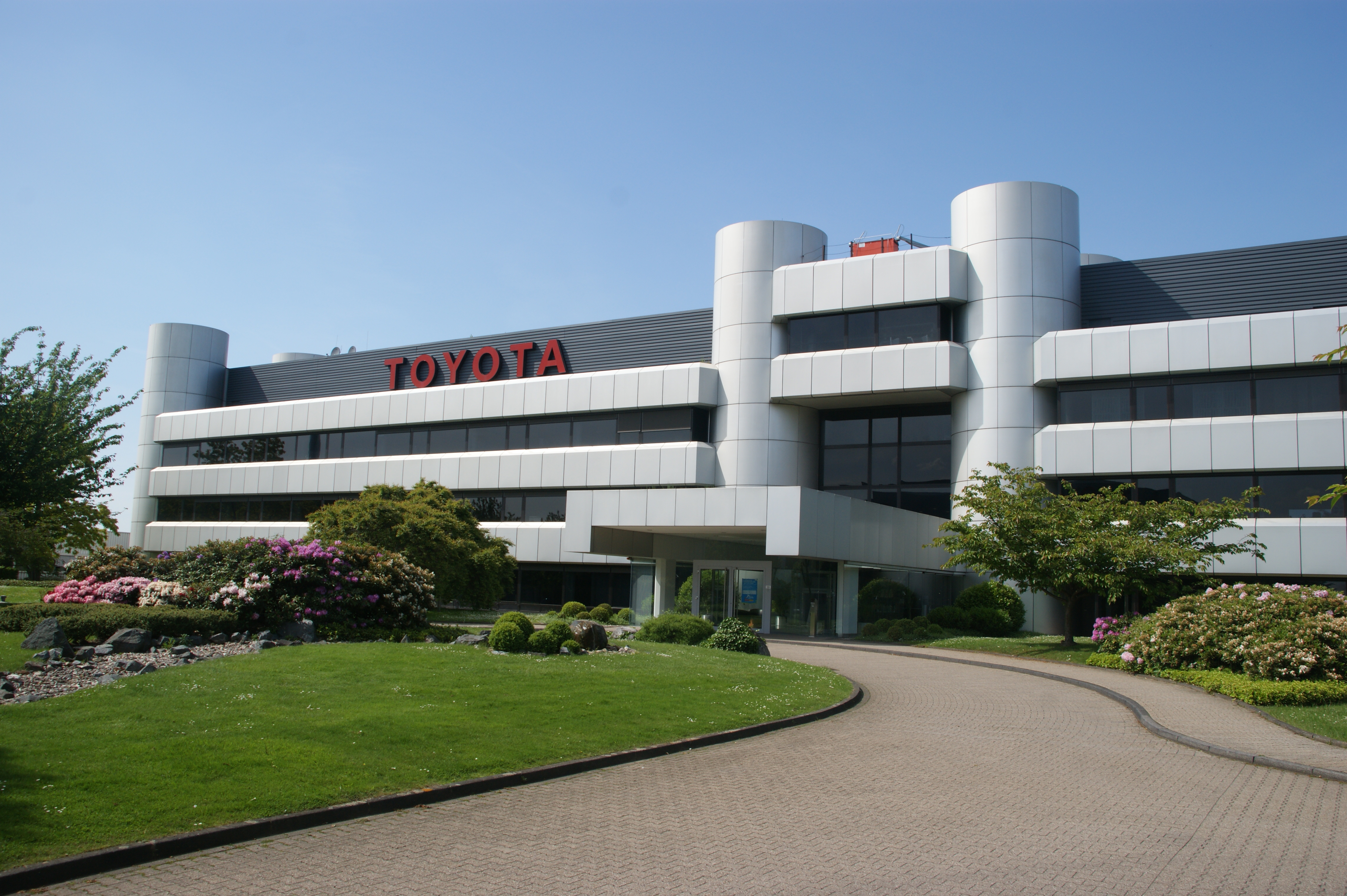 File Toyota Deutschland In Koeln Marsdorf Jpg Wikimedia Commons