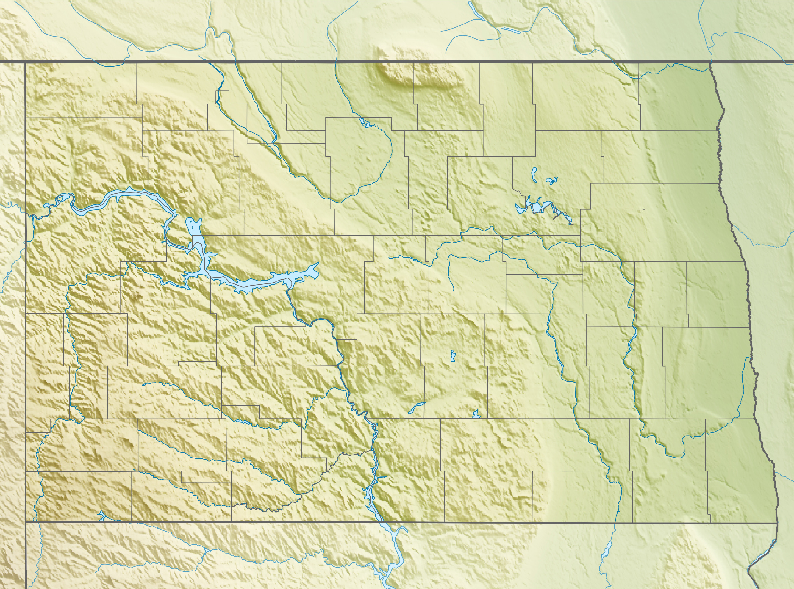 Datei:USA North Dakota relief location map.jpg – Wikipedia