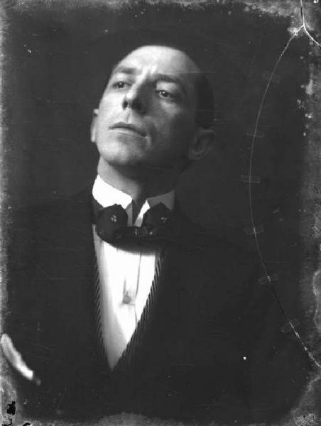 Umberto Boccioni, portrait photograph