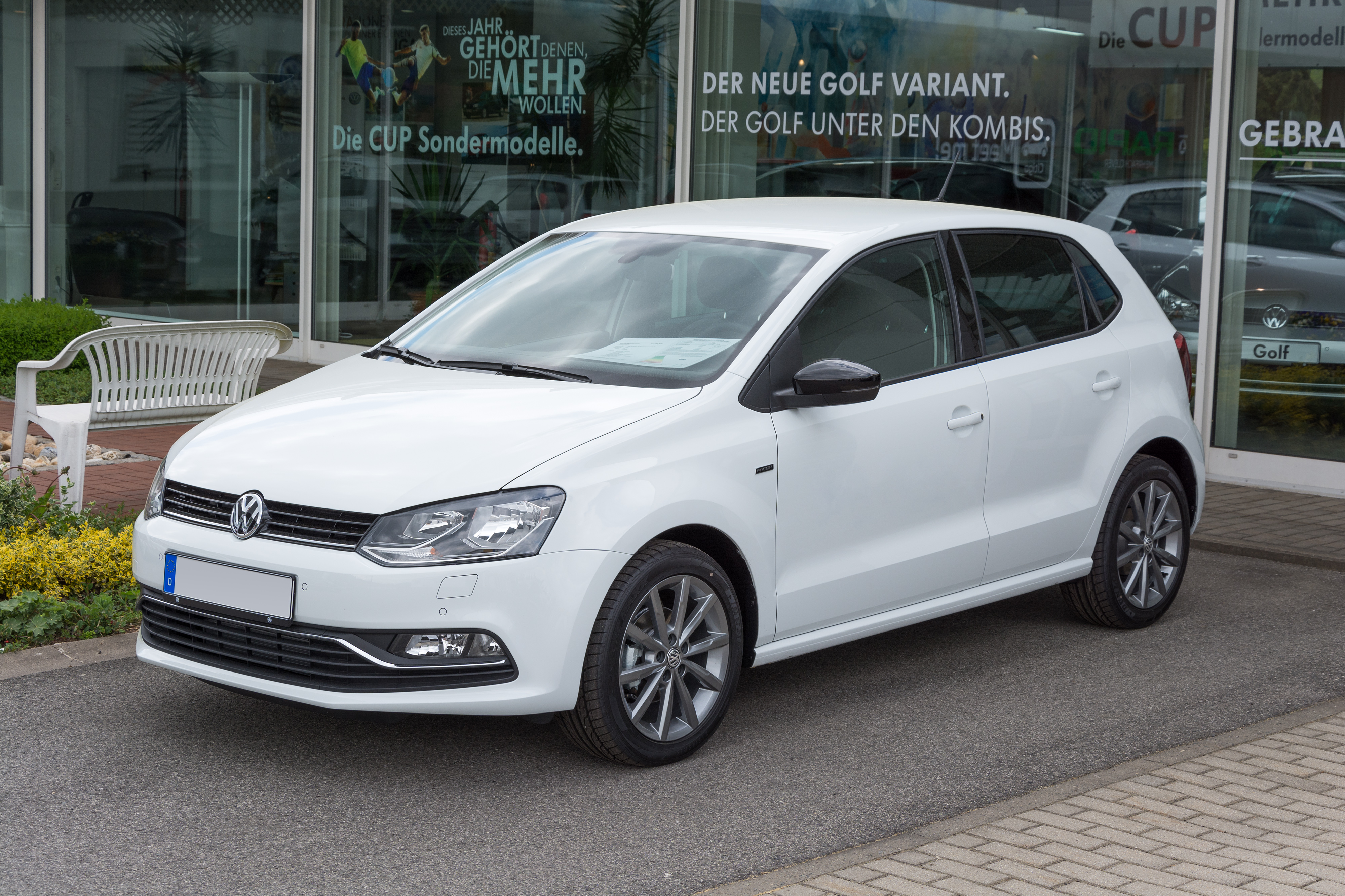 File Vw Polo V Fresh Mj2015 Jpg Wikimedia Commons