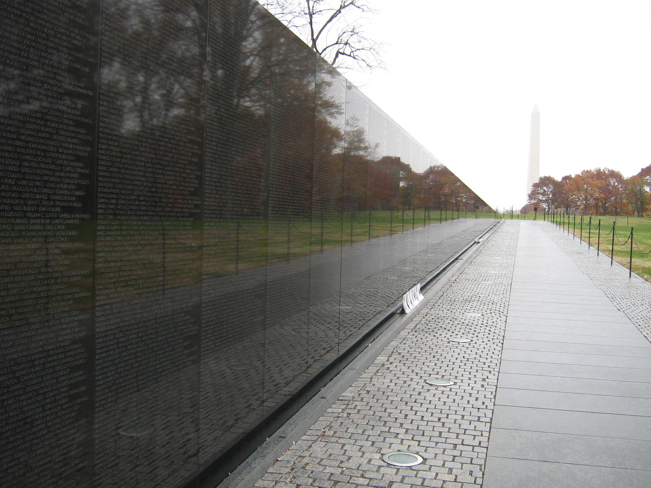 Merveilleux File:Vietnam Memorial Wall (2083029082)