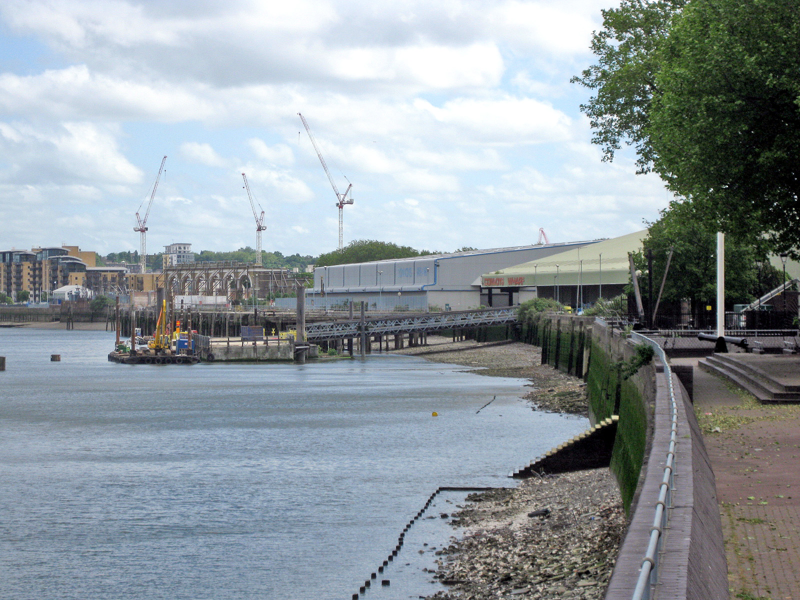 Convoys Wharf | Military Wiki | Fandom