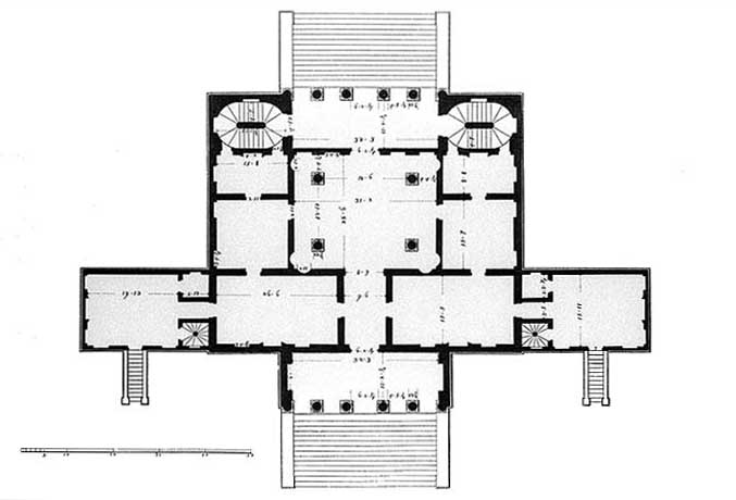Villa Emo 1465 950 Palladian Plans Pinterest