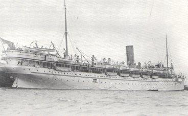 HMS 'Rewa' before she entered miltary service.