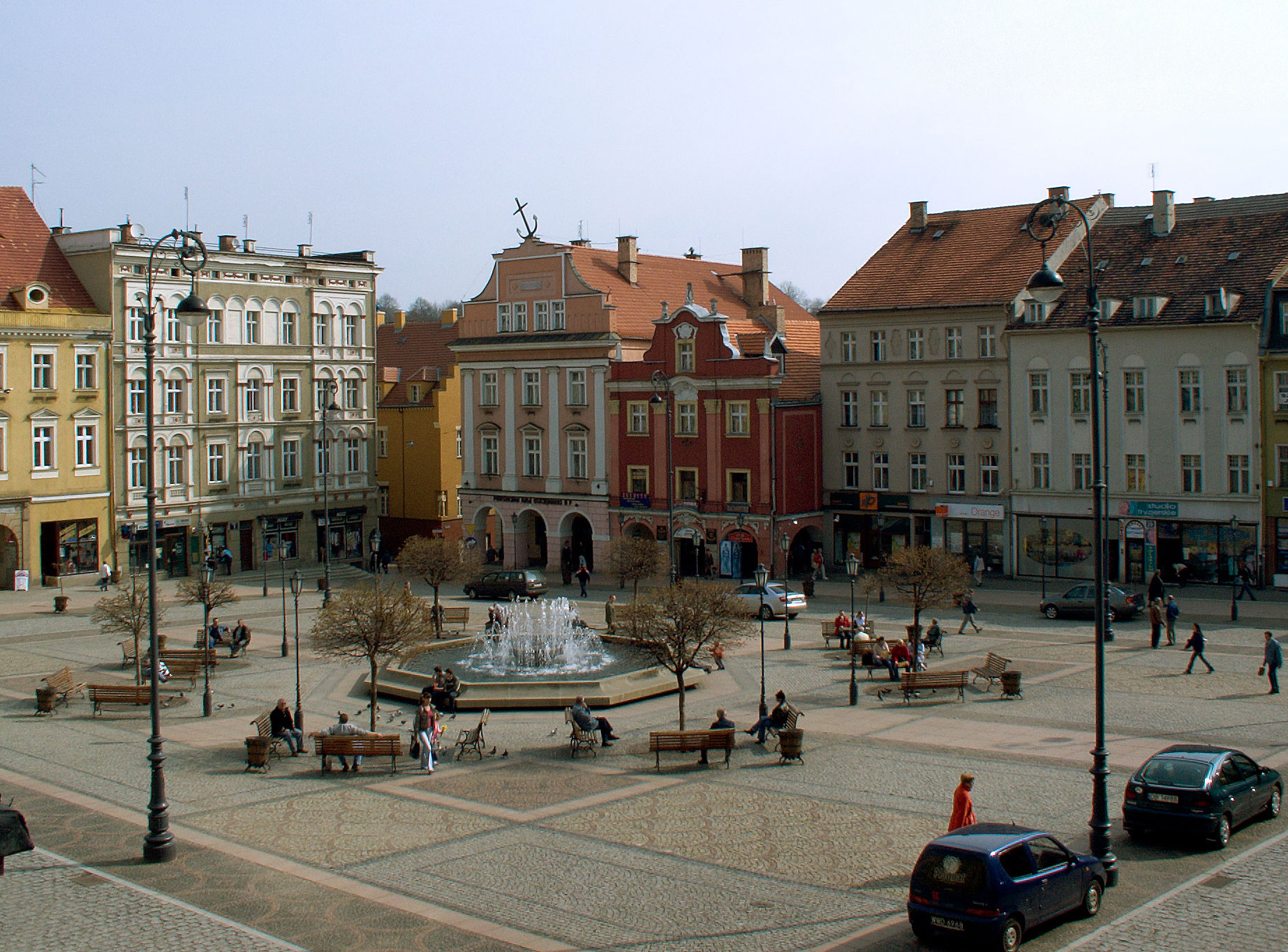 Walbrzych Poland  City pictures : Walbrzych rynek Wikimedia Commons