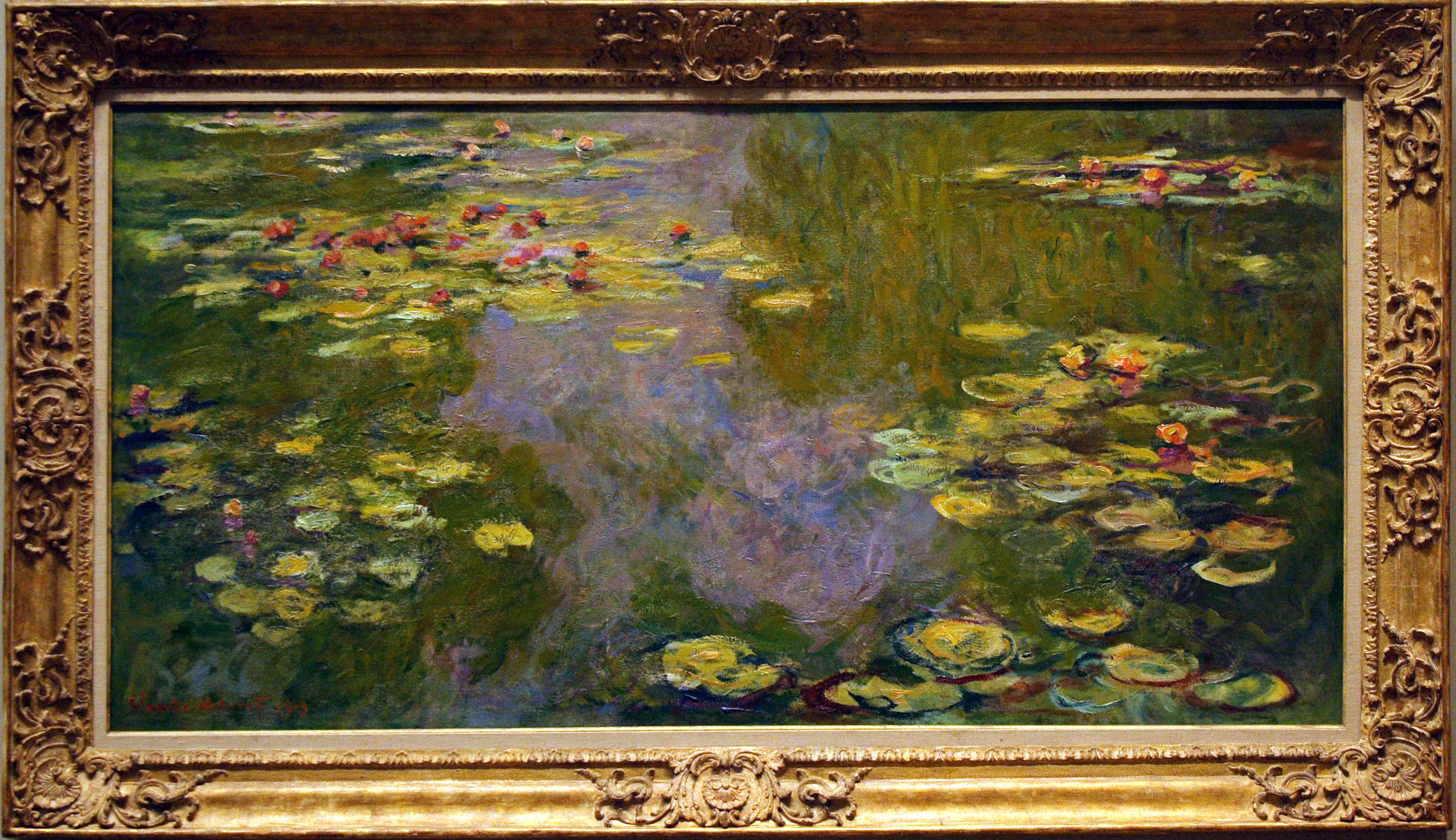 File Water Lilies Monet 1919 Jpg Wikimedia Commons