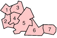 Distrikte von West Midlands
