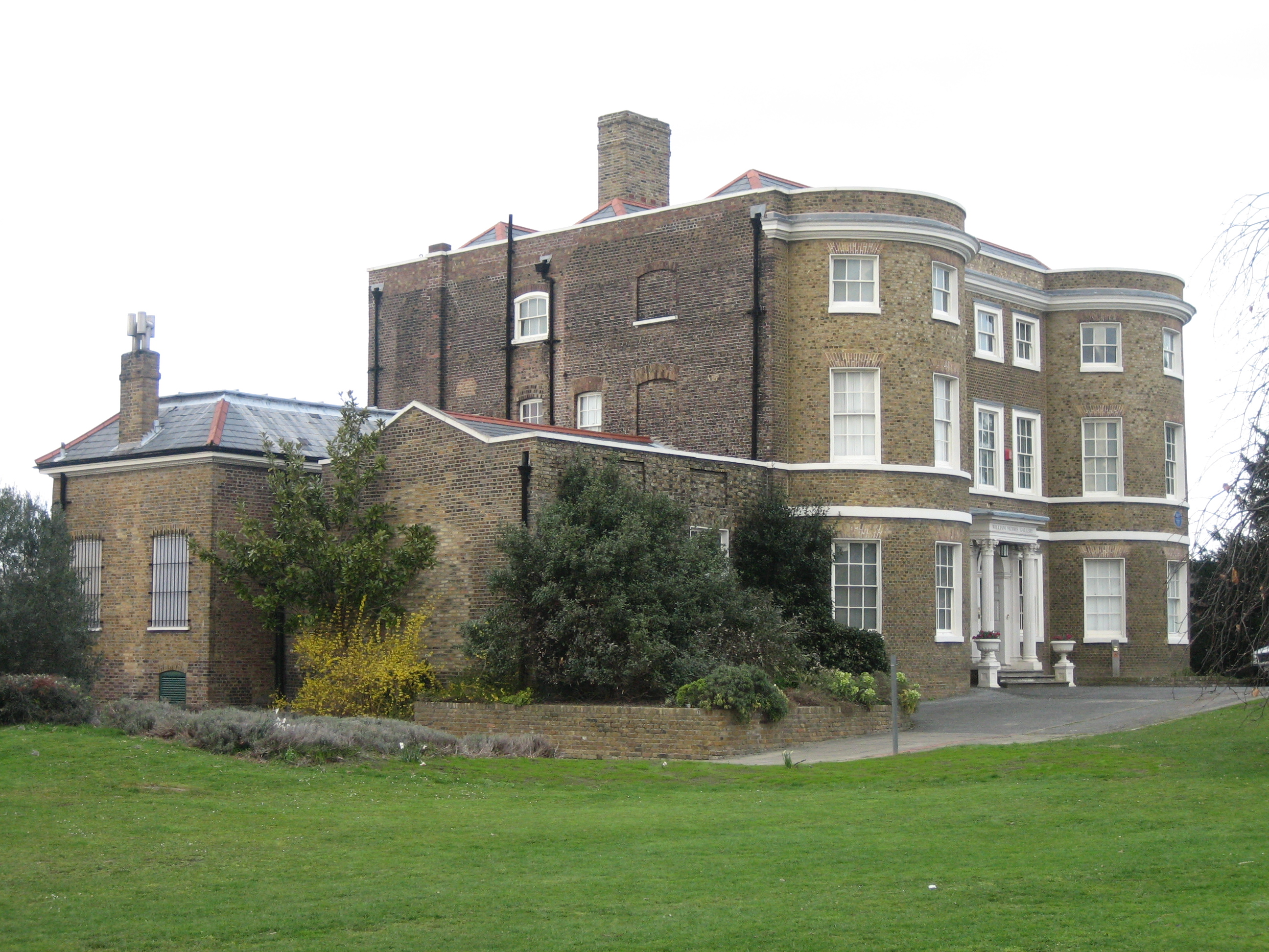 The William Morris Gallery, Lloyd Park, Forest Road.