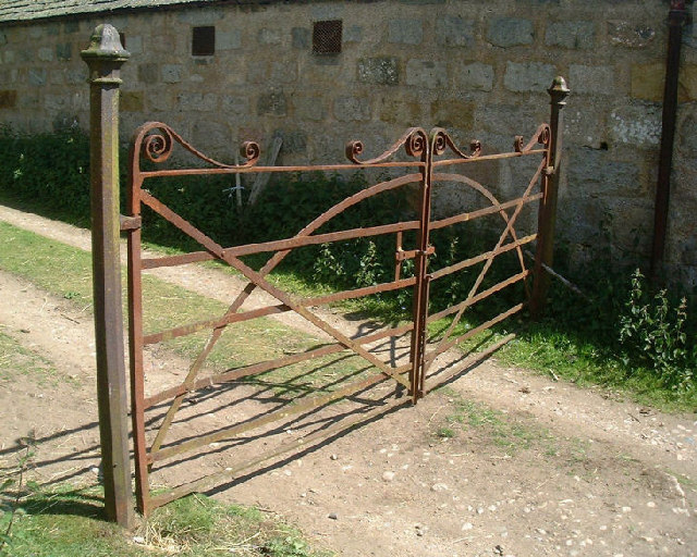 Queen Wrough Iron Bed