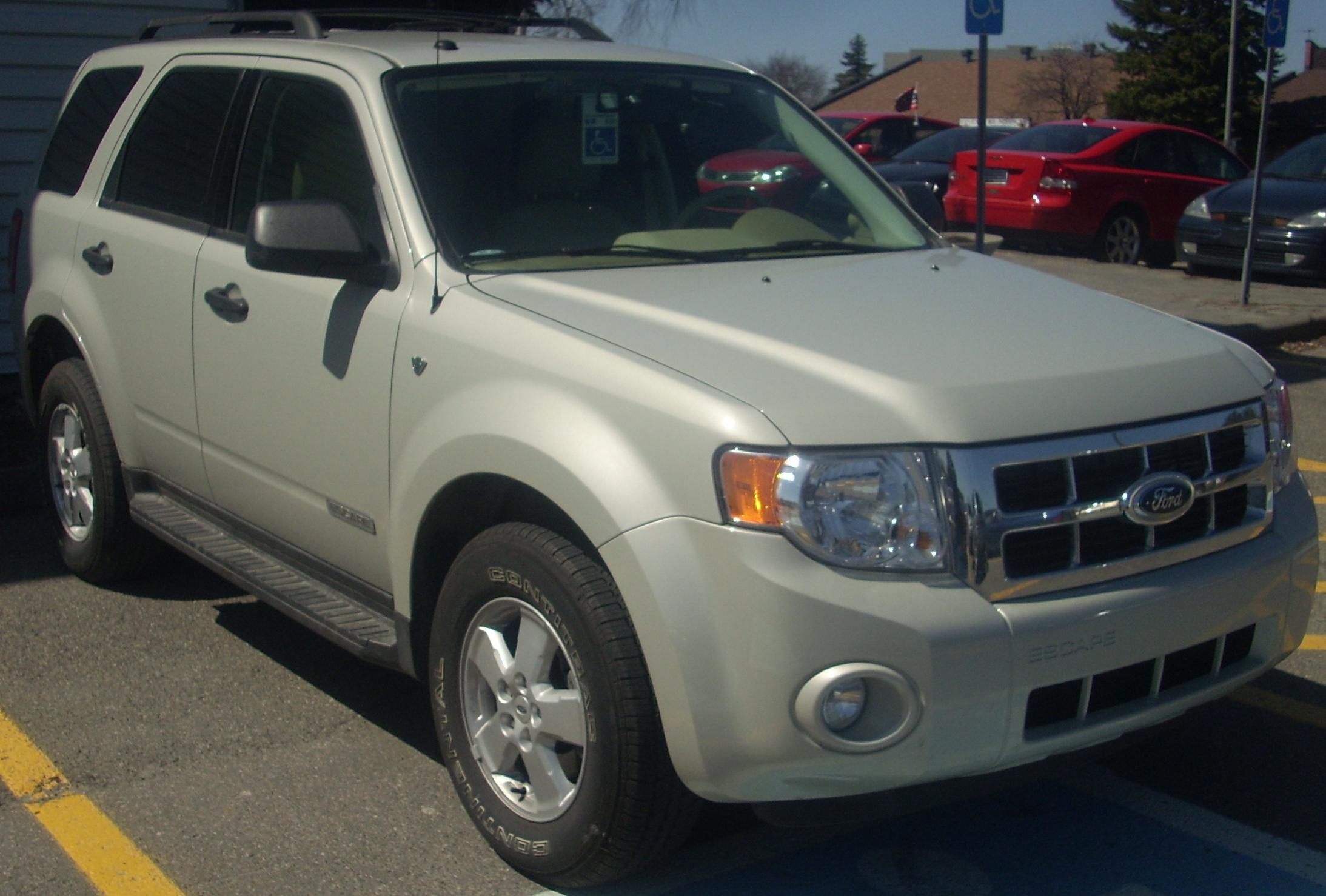 File08 ford escape v6