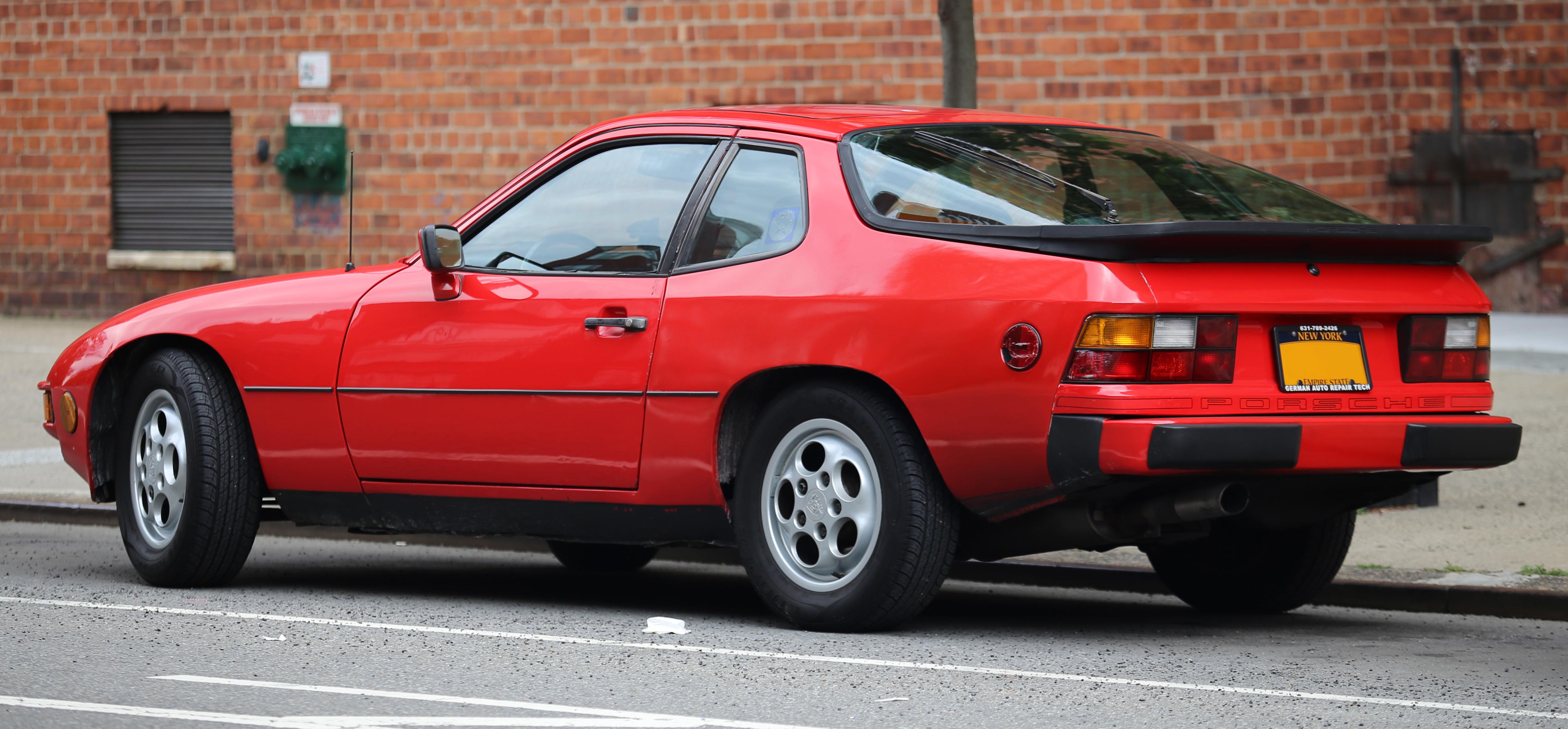 File 1987 Porsche 924s Rear Jpg Wikimedia Commons