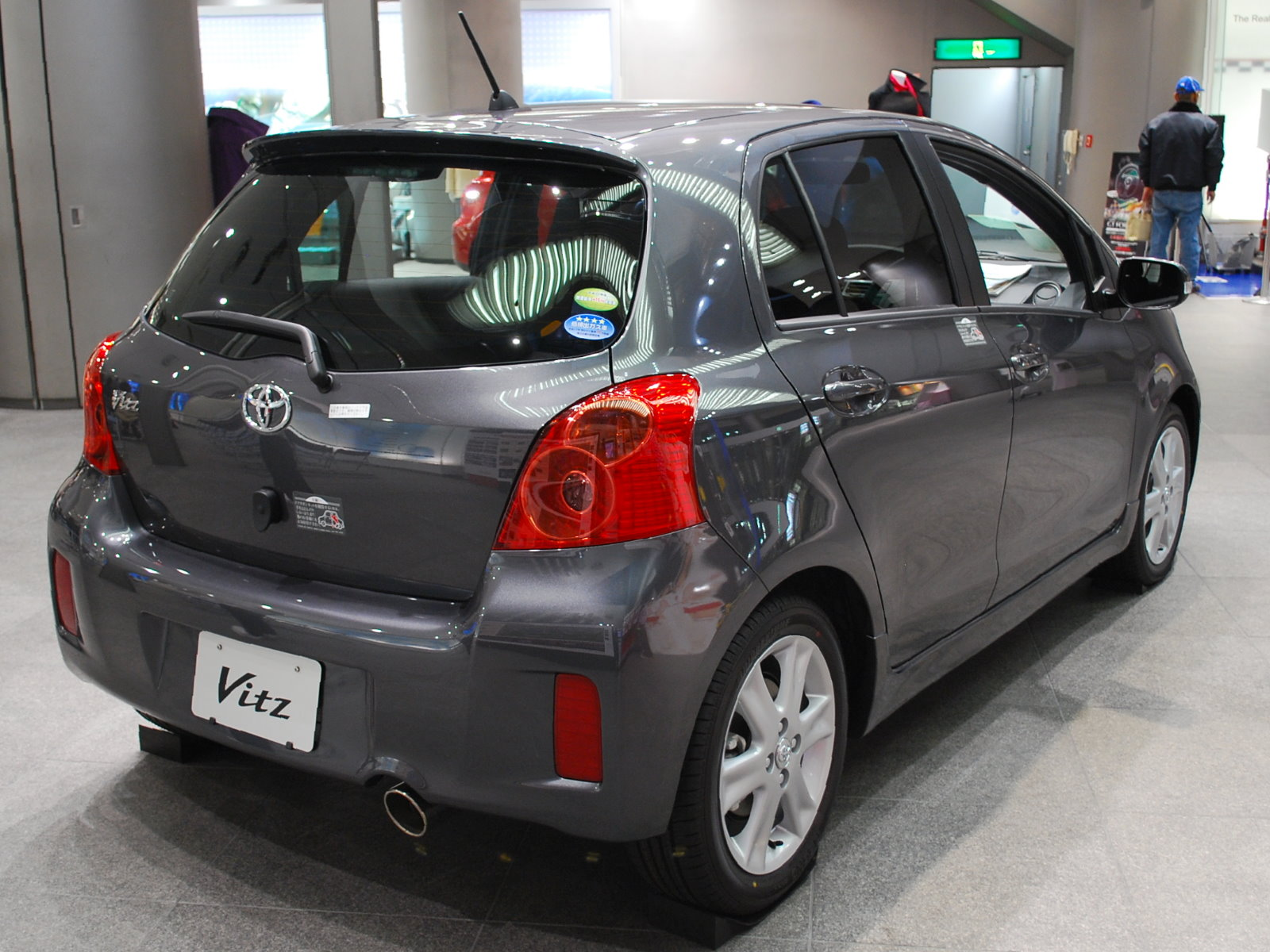 File 2008 Toyota Vitz 02 Jpg Wikimedia Commons