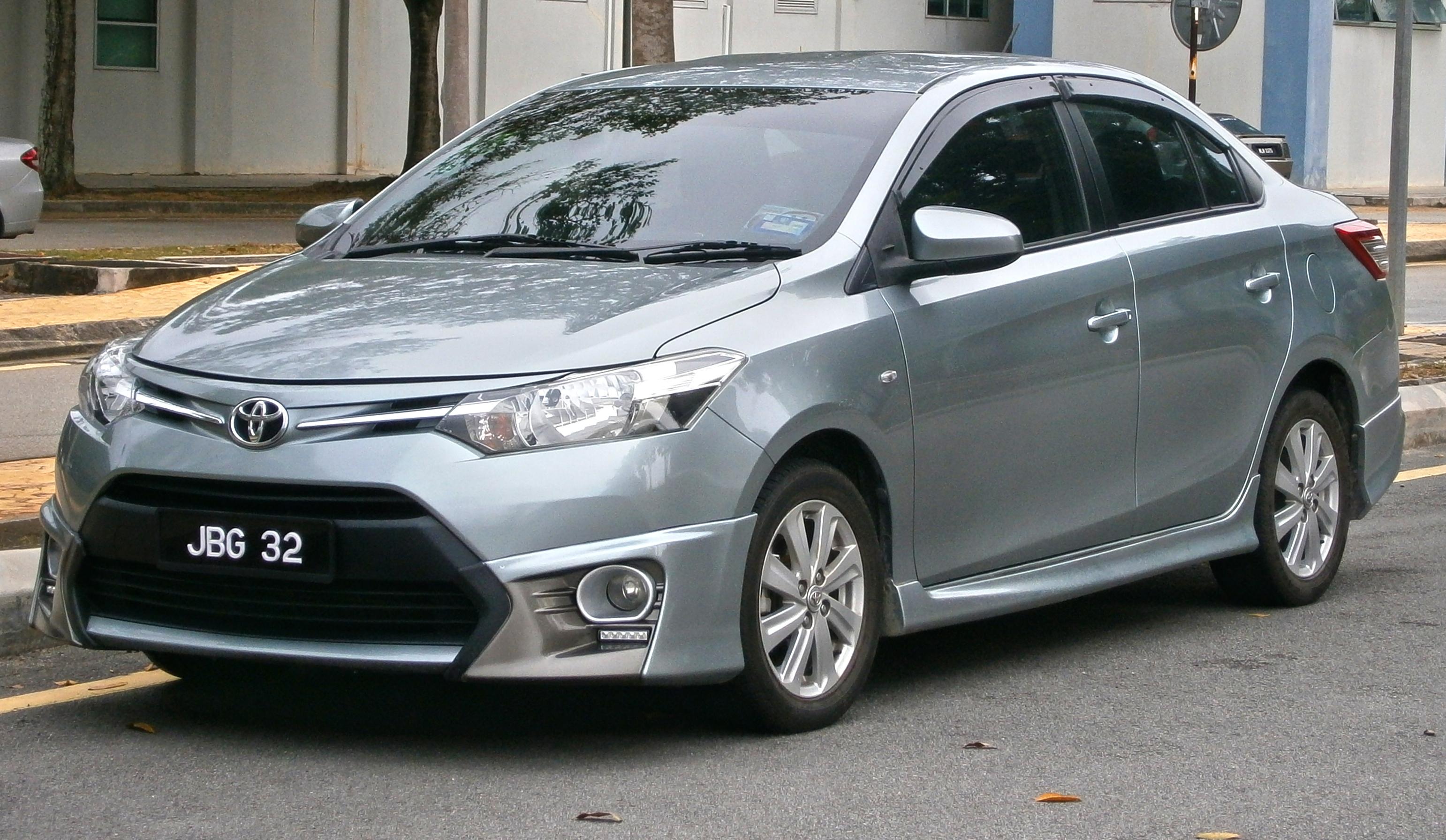 File 2015 Toyota Vios Xp150 1 5j 4 Door Sedan With