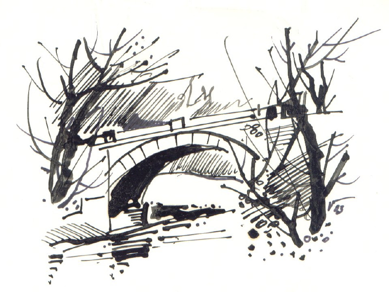 Soubor 52 Znosimsky Most Kresba Jpg Wikipedie