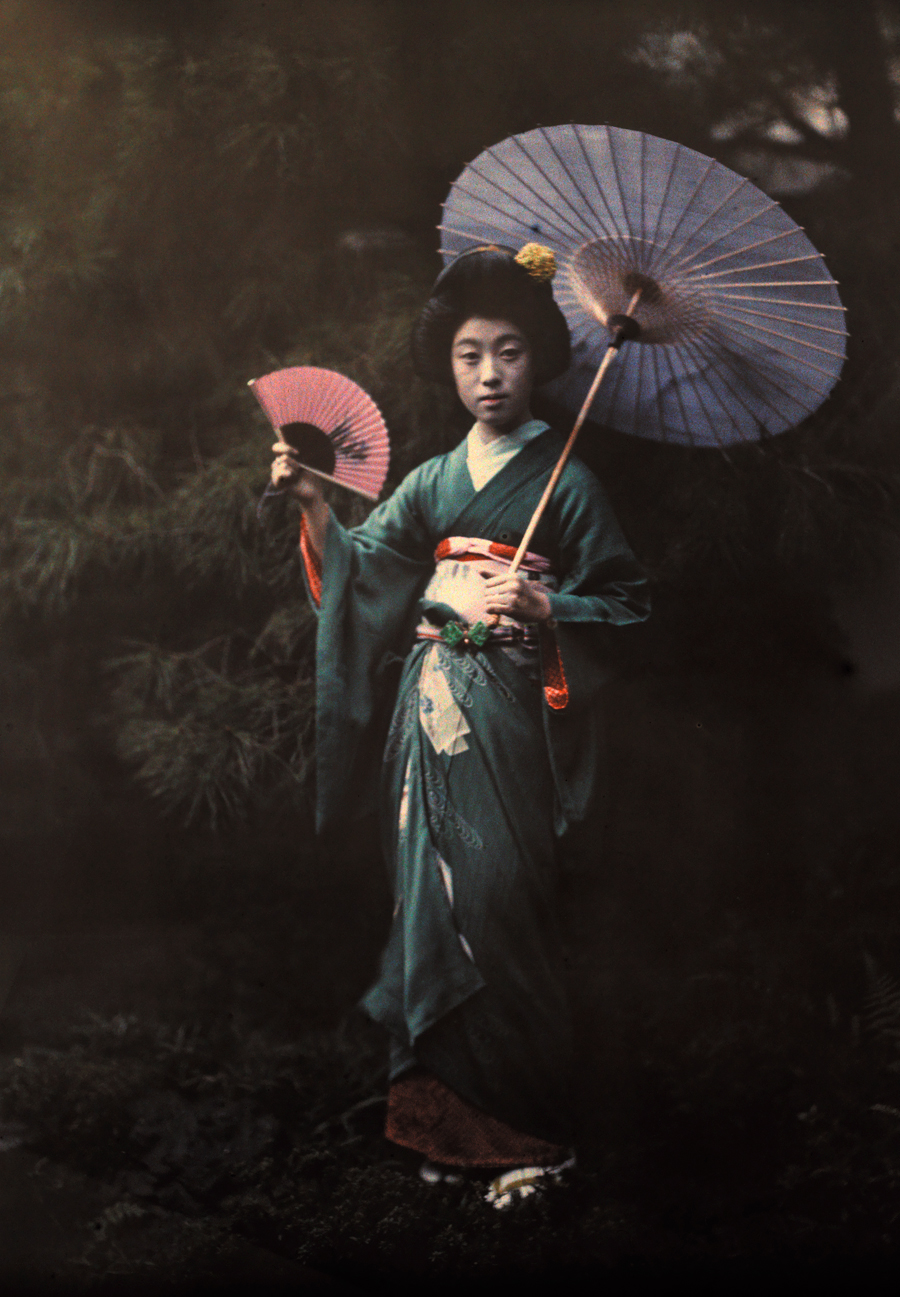 Geisha Girl Historical Stock Photos and Images - Alamy