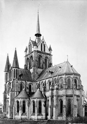 Abbaye de Saint-Yved (ancienne) ; Eglise abbatiale Saint-Yved (ancienne) ; Eglise Notre-Dame - Ensemble sud-est - Braine - Médiathèque de l'architecture et du patrimoine - APMH00021350