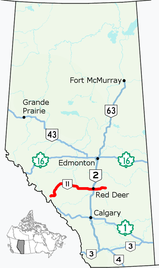 Alberta Highway 11 - Wikipedia