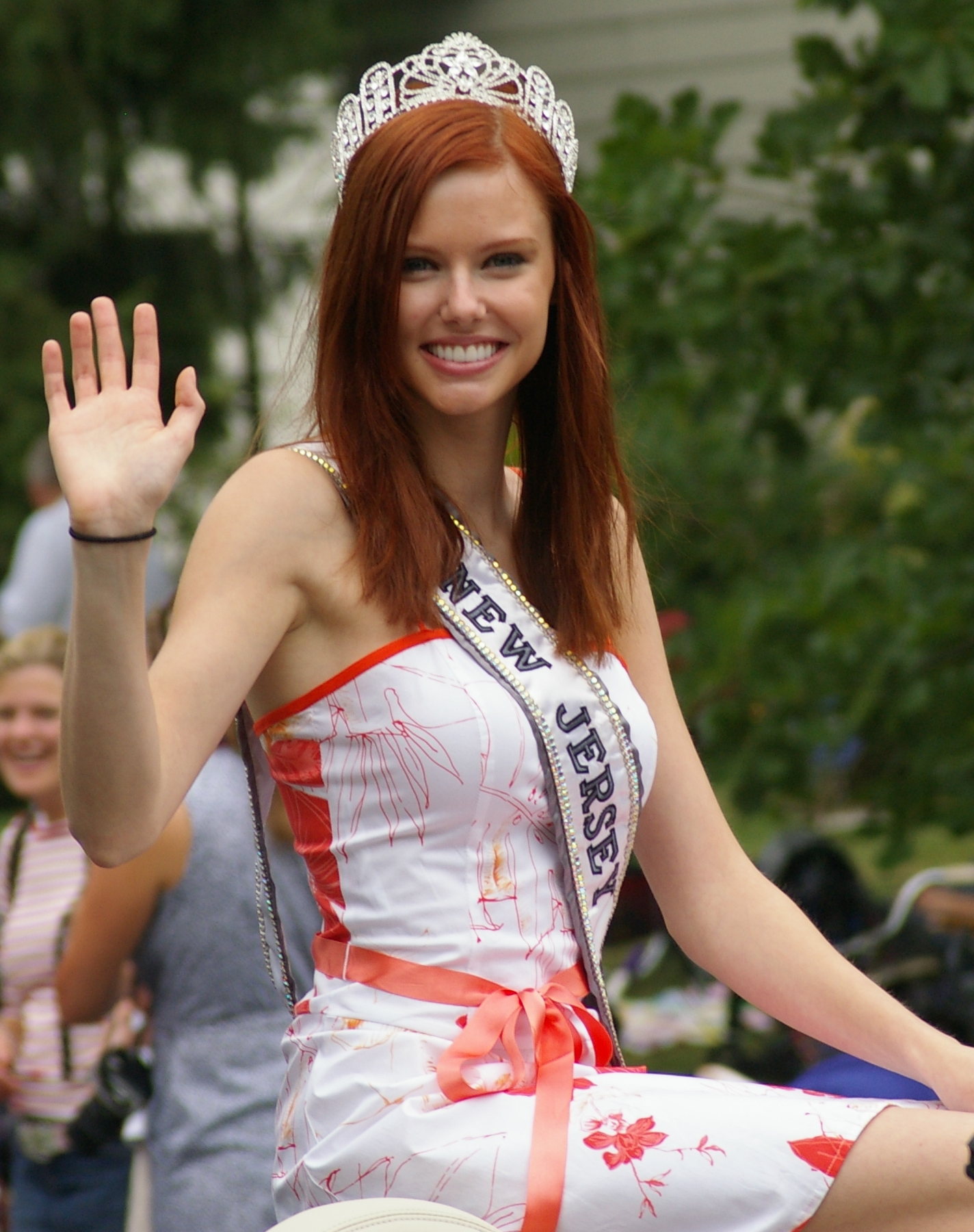 Alyssa Campanella as Miss New Jersey Teen USA.