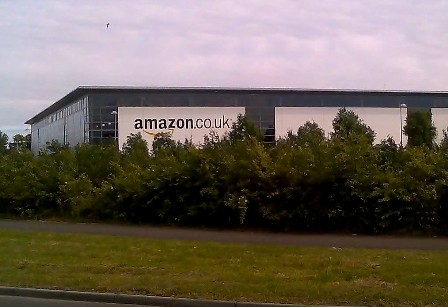 Largest Amazon Warehouse Amazon.co.uk Warehouse in