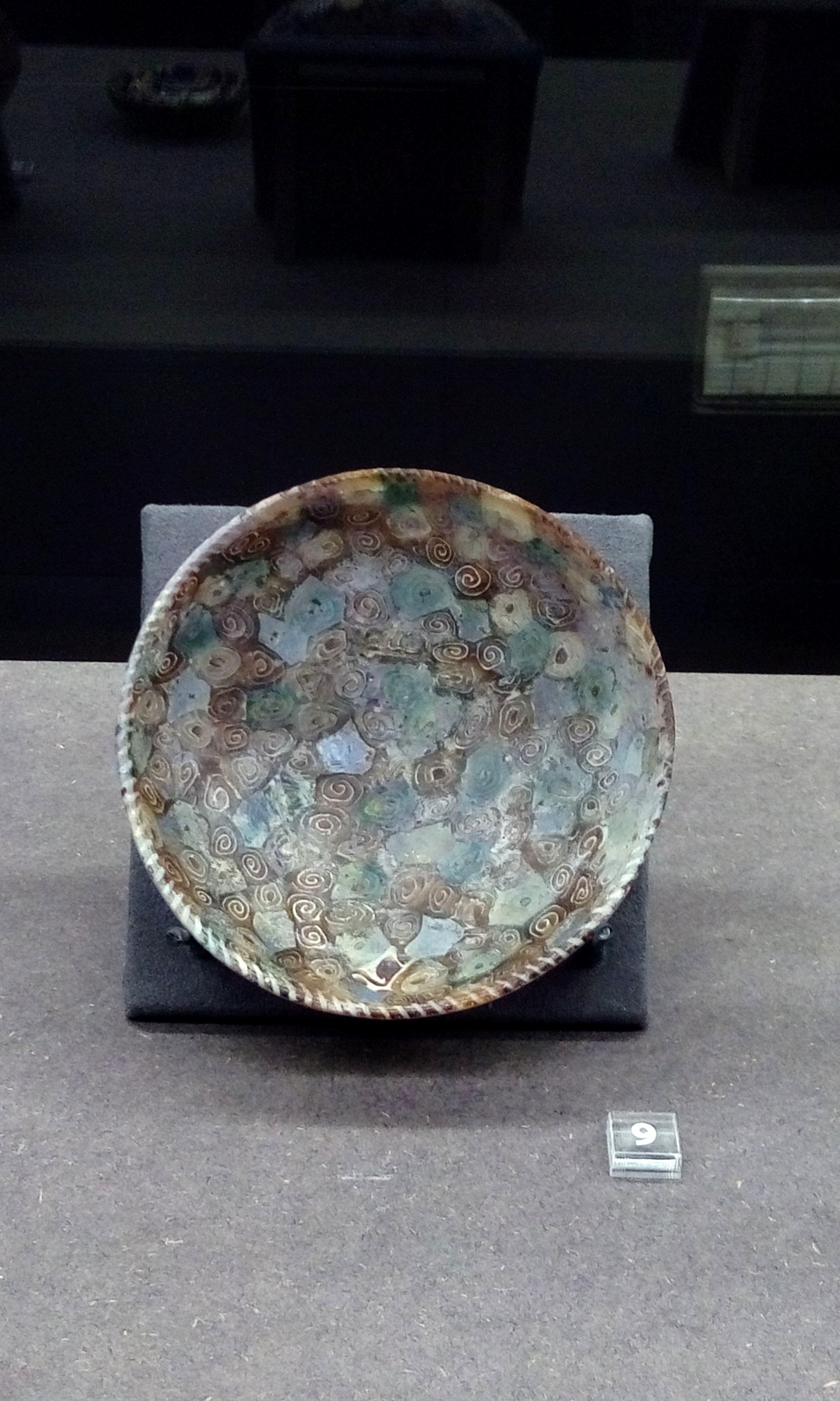 File Ancient Roman Millefiori Dish 1st Century Bc 1st Century Ad Museo Archeologico Di Firenze Foto Giovanni Dall Orto 12 Jan 2018 04 Jpg Wikimedia Commons