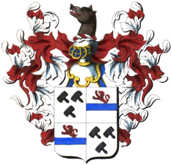 Armoiries d'évêque Armoiries_de_la_famille_de_Woelmont