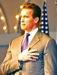 The current governor, Arnold Schwarzenegger.