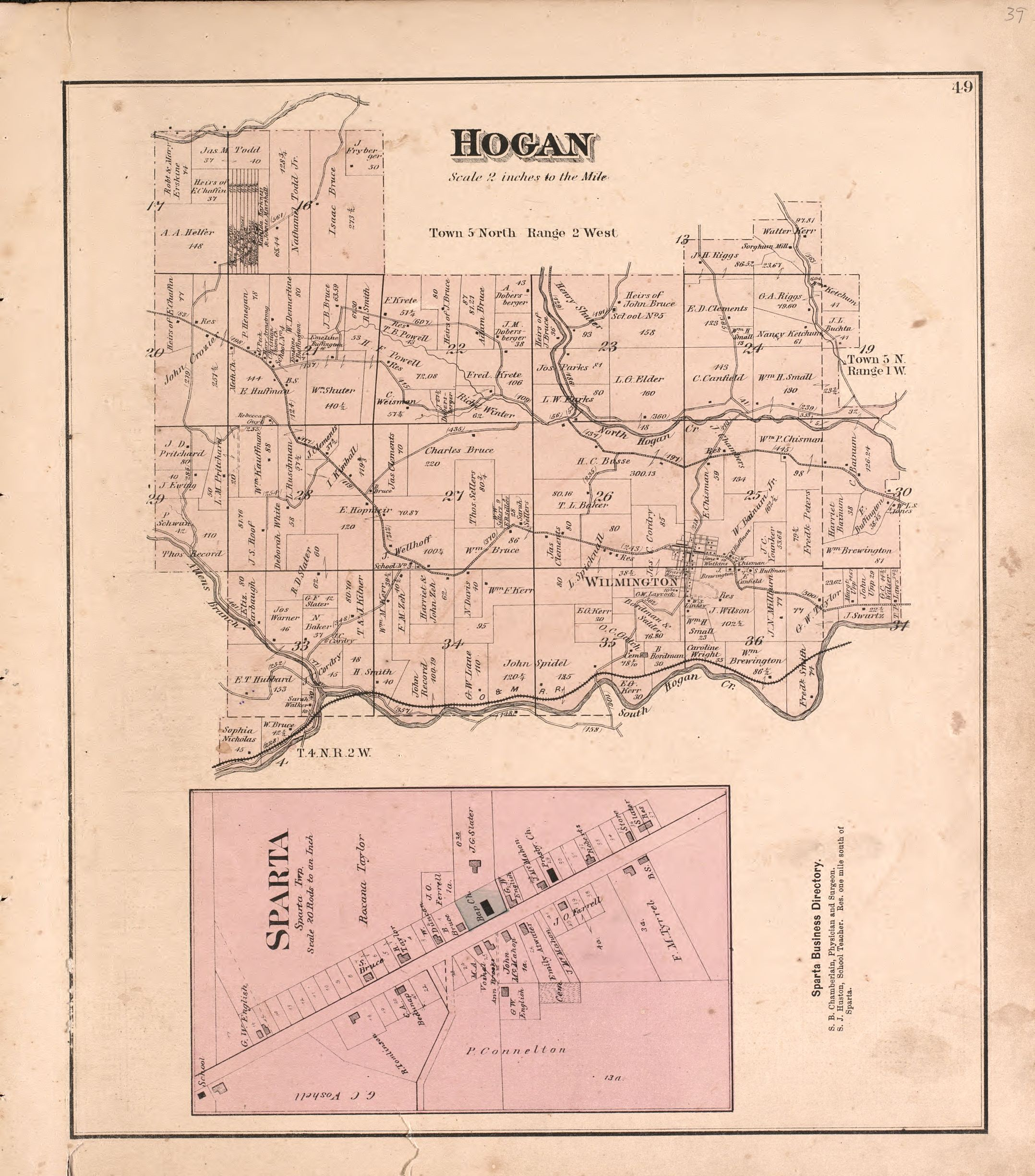 File:Atlas of Dearborn County, Indiana - to which is added a map of ...