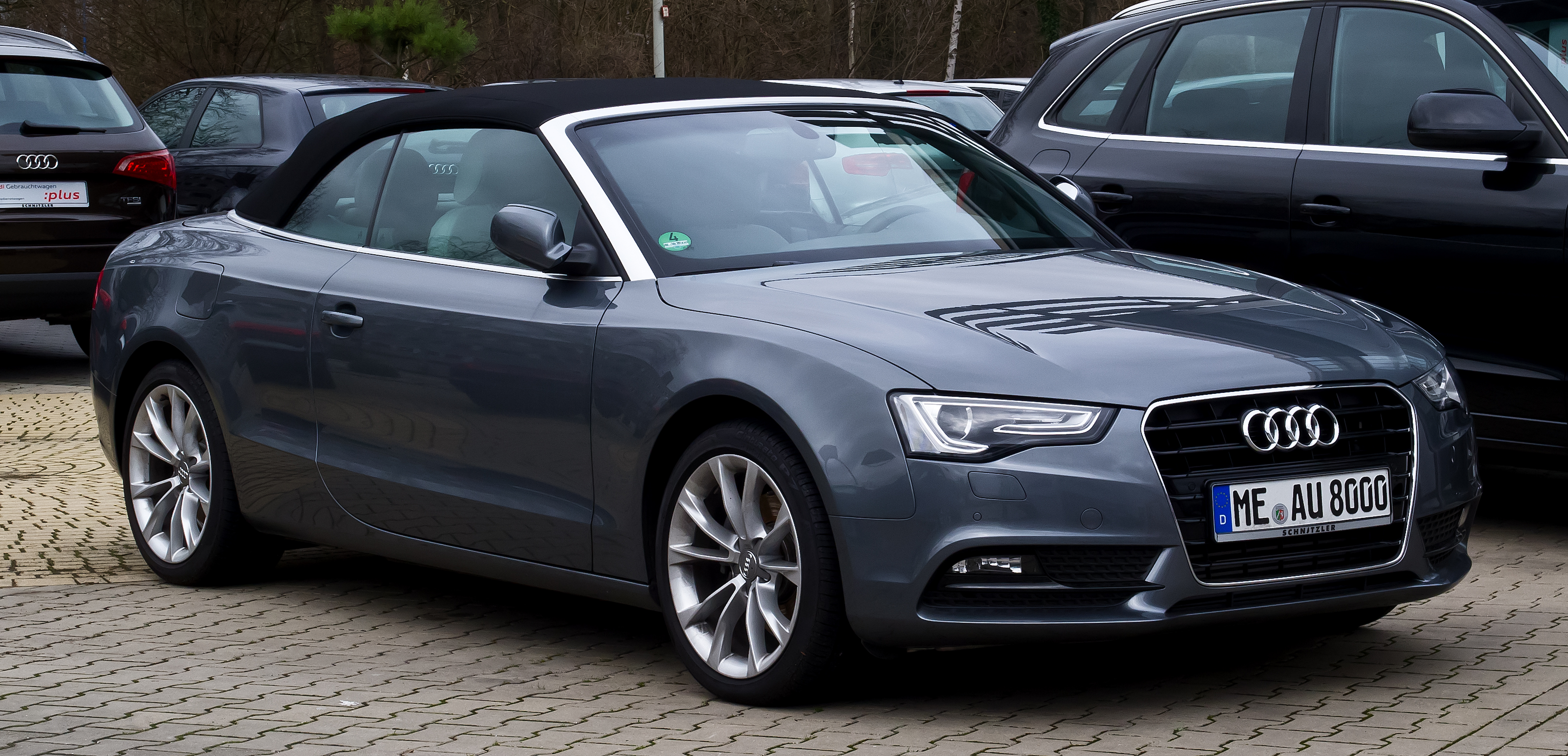 Audi Build Your Own >> File:Audi A5 Cabriolet TFSI (Facelift) – Frontansicht, 31. Dezember 2012, Hilden.jpg - Wikimedia ...