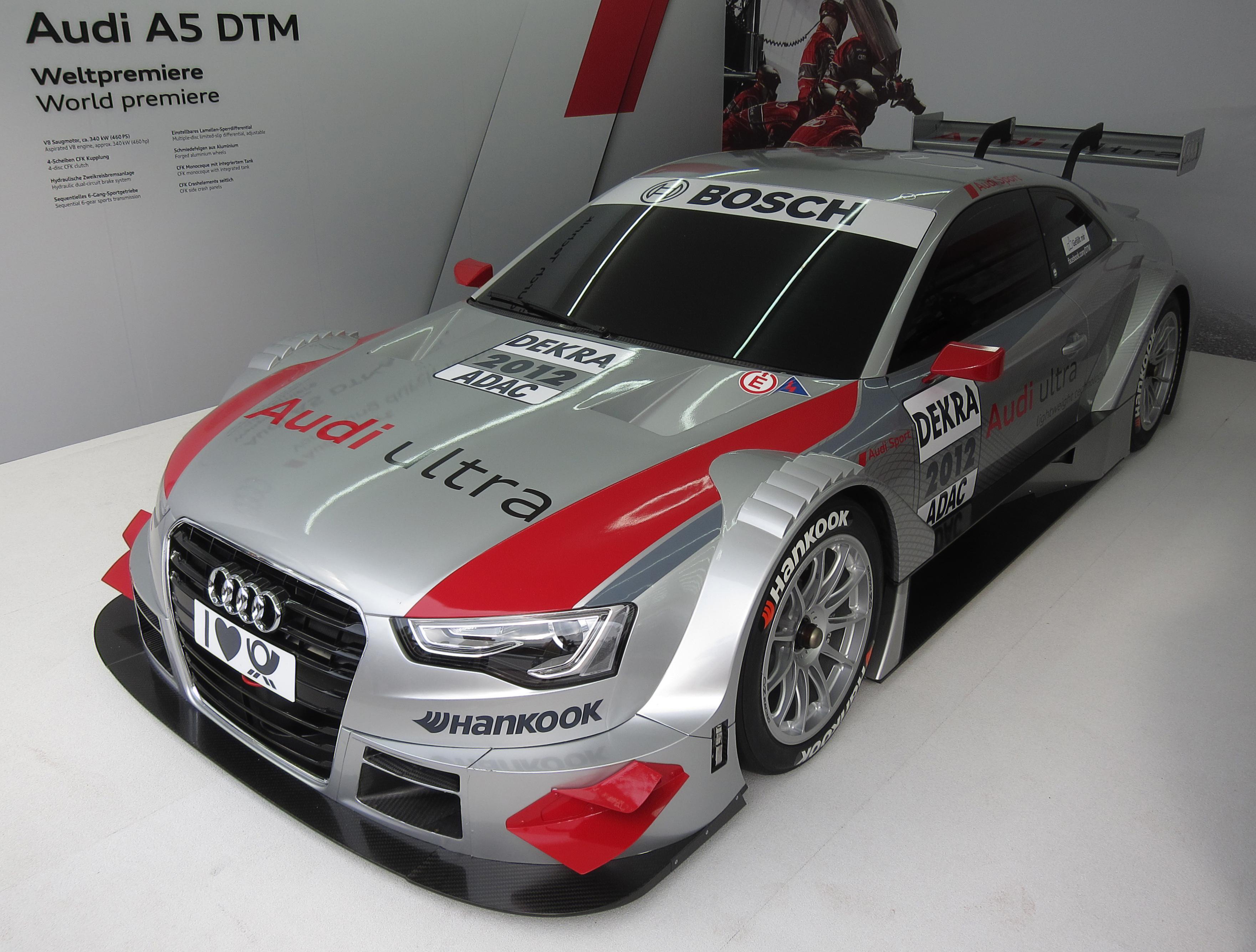 Audi 5 Series DTM (naturally-aspirated) - Wikipedia