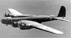 Un B-17C du type de ceux du film