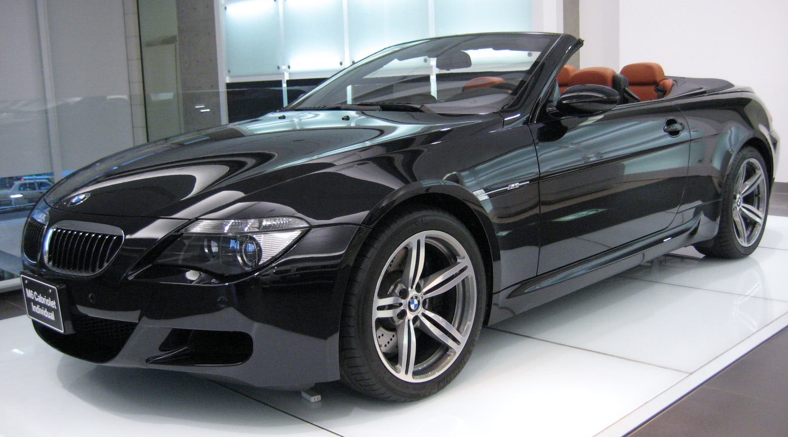 file bmw e64 m6 convertible jpg wikimedia commons. Black Bedroom Furniture Sets. Home Design Ideas