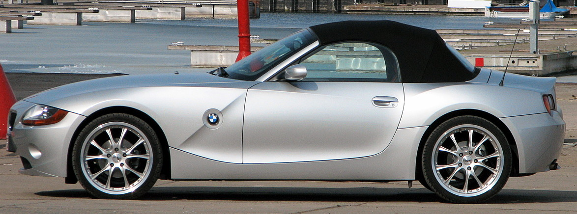 File Bmw Z4 Silver Side Jpg Wikimedia Commons