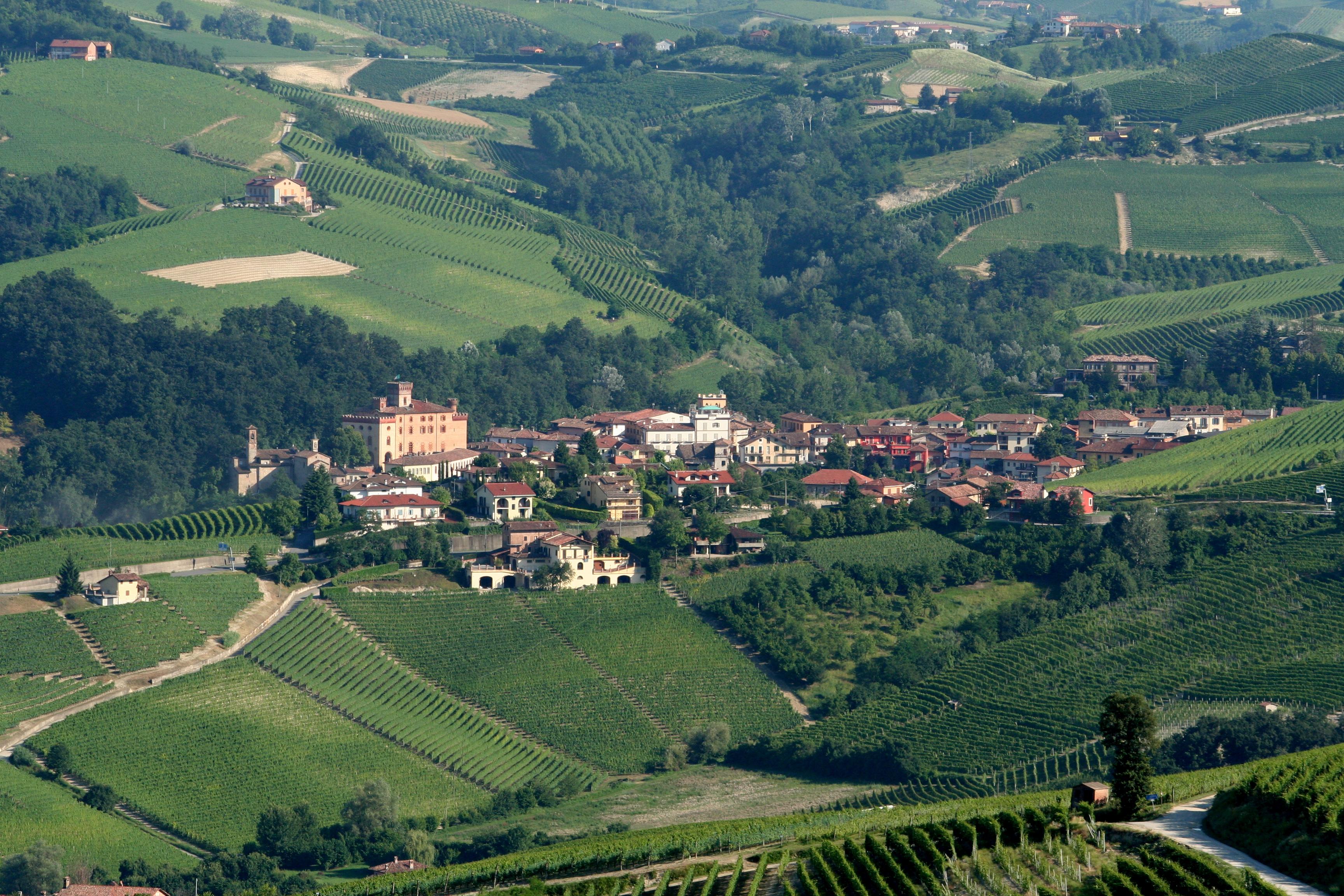 Cities in Piedmont Italy