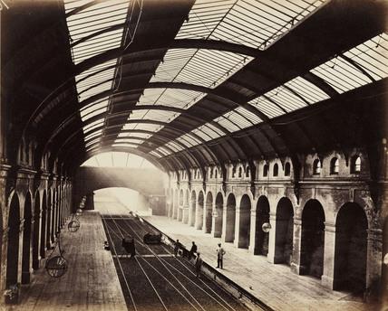 Bayswater station circa 1867