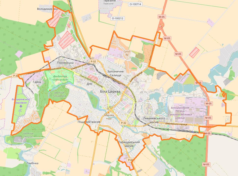 FileBila Tserkva Location Mappng Wikimedia Commons - Bila tserkva map