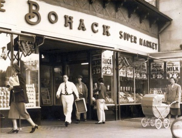 Bohack supermarket in Kew Gardens, Queens.