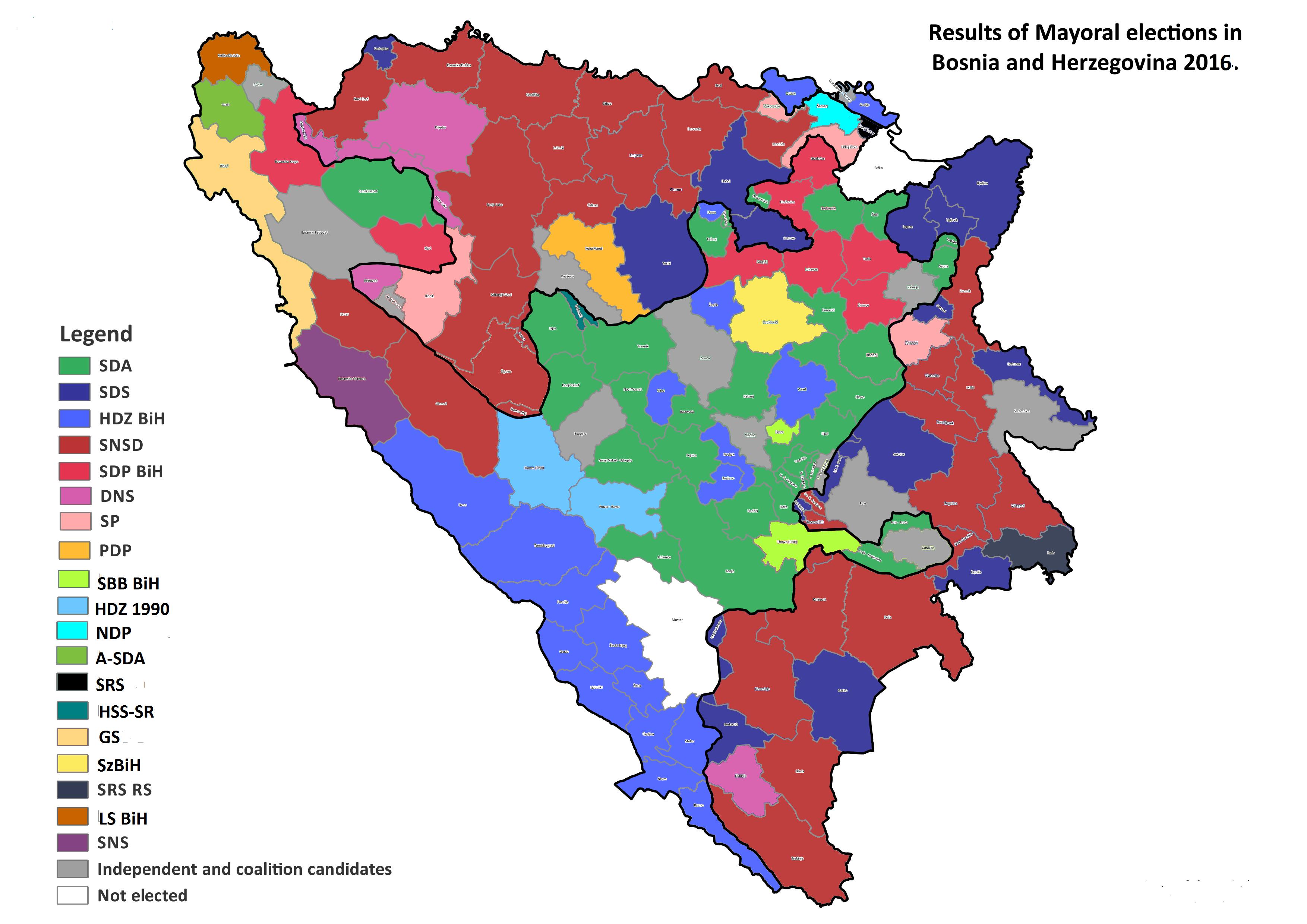 Dodik protiv odlaska Miloševića u Knin Bosnia_and_Herzegovina%2C_mayoral_elections%2C_2016